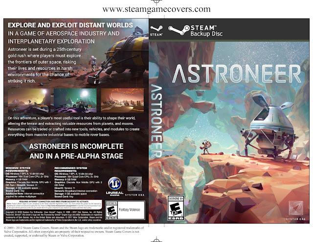 Capa Astroneer PC