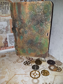 Rusty old book