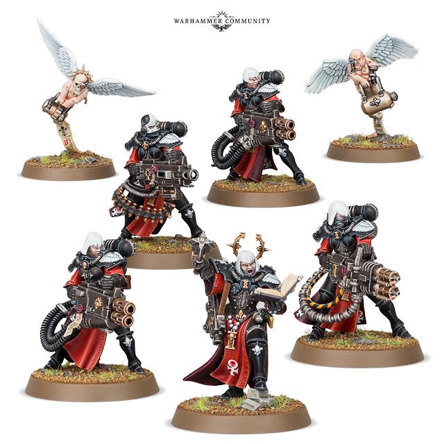 Escuadra Adepta Sororitas Retributors
