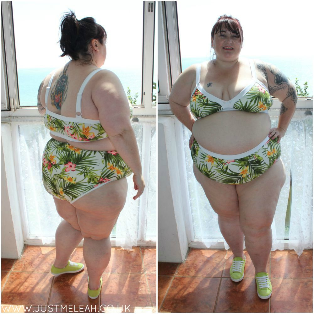 FOREVER 21 PLUS TROPICAL PRINT BIKINI IN 3X OOTD