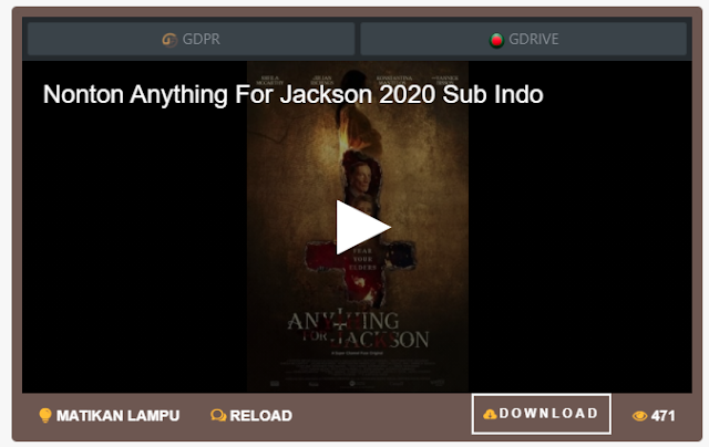 Nonton Film Anything for Jackson (2020) Sub Indo Full Movie | Link 2021