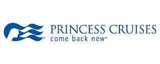 "Princess Cruises Logo und Slogan ""come back new"" (C) Princess Cruises"