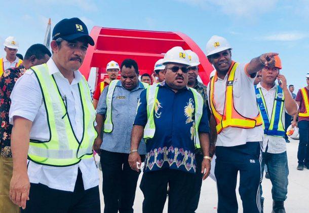 Gubernur Lukas Enembe : Bulan Maret 2019 Jembatan Papua Bangkit akan diresmikan Presiden Jokowi