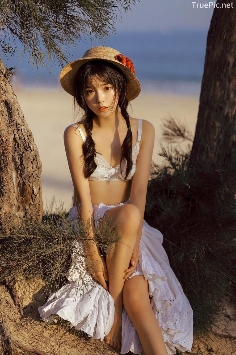 Chinese bautiful angel - Stay with you on a beautiful beach - TruePic.net - Picture 9
