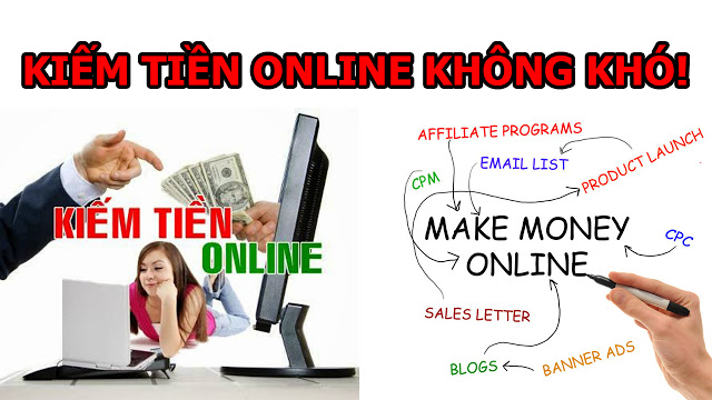 Kiếm tiền online khó hay dễ? Cách kiếm tiền nhanh nhất