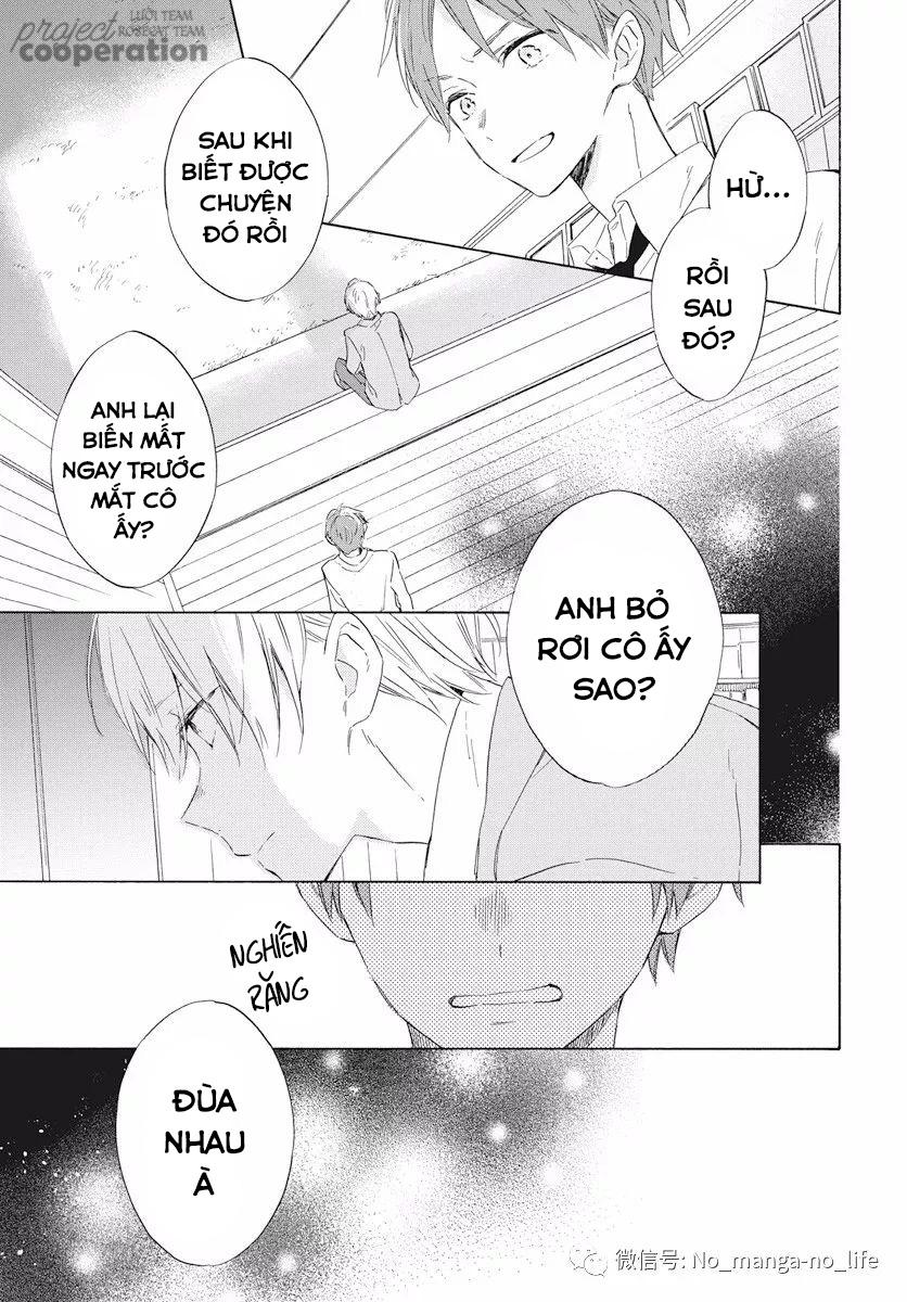 Kimi wa Haru ni Me wo Samasu chap 16 - Trang 12