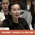 ABS-CBN execs nasa senado na para sa inquiry para sa kanilang franchise; Humarap kay Madam Grace Poe