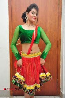 Telugu Actress Dancer Riya  Pictures at Banti Poola Janaki Audio Function  0023