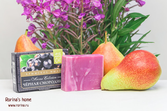 крымское мыло ФЛОРА nature cosmetic Aroma Collection «Черная смородина»: отзывы