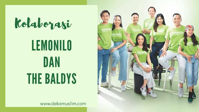 kolaborasi baru lemonilo x the baldys