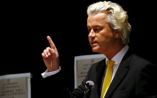 Deputado anti-islã Geert Wilders quer mostrar caricaturas de Maomé na televisão holandesa
