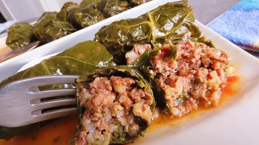 Japrak (ljetna sarma)🔹Stuffed cabbage rolls