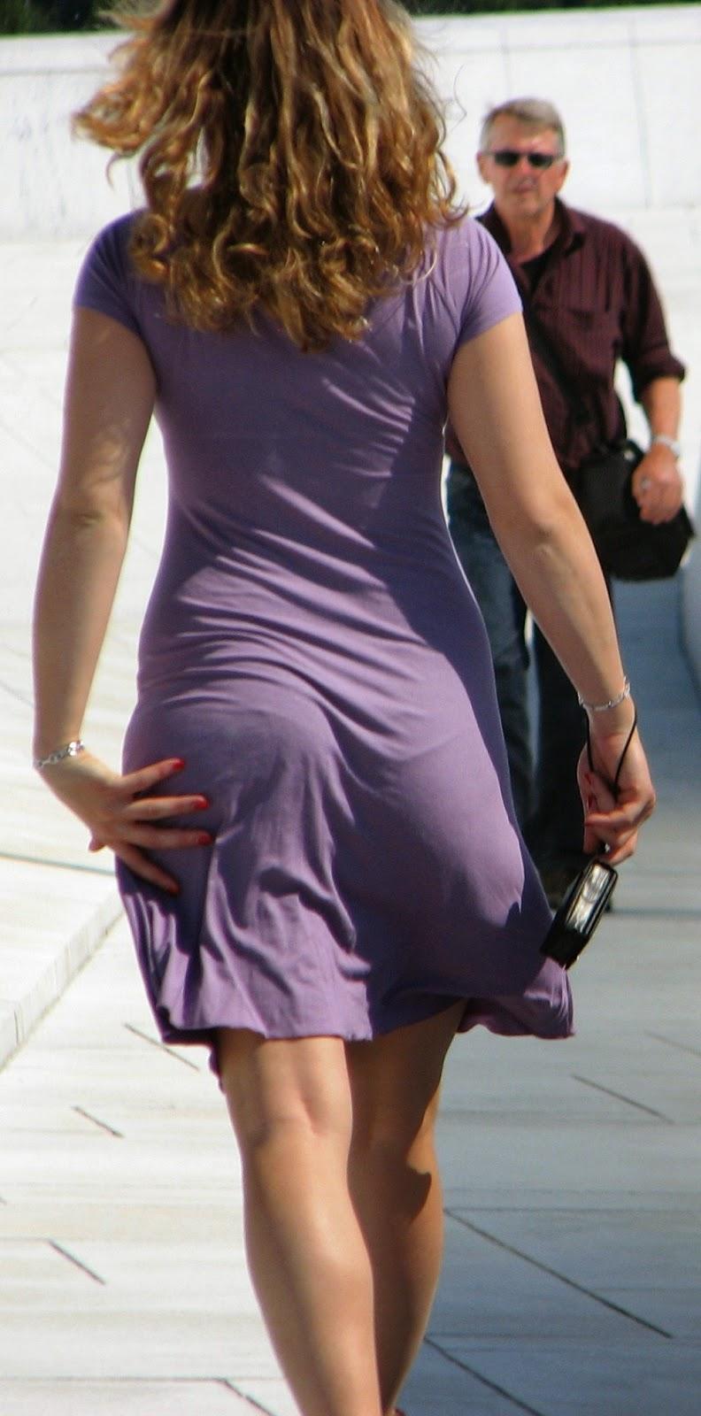 Mujeres bonitas en vestidos pegados marcando ropa interior for Chicas guapas en ropa interior