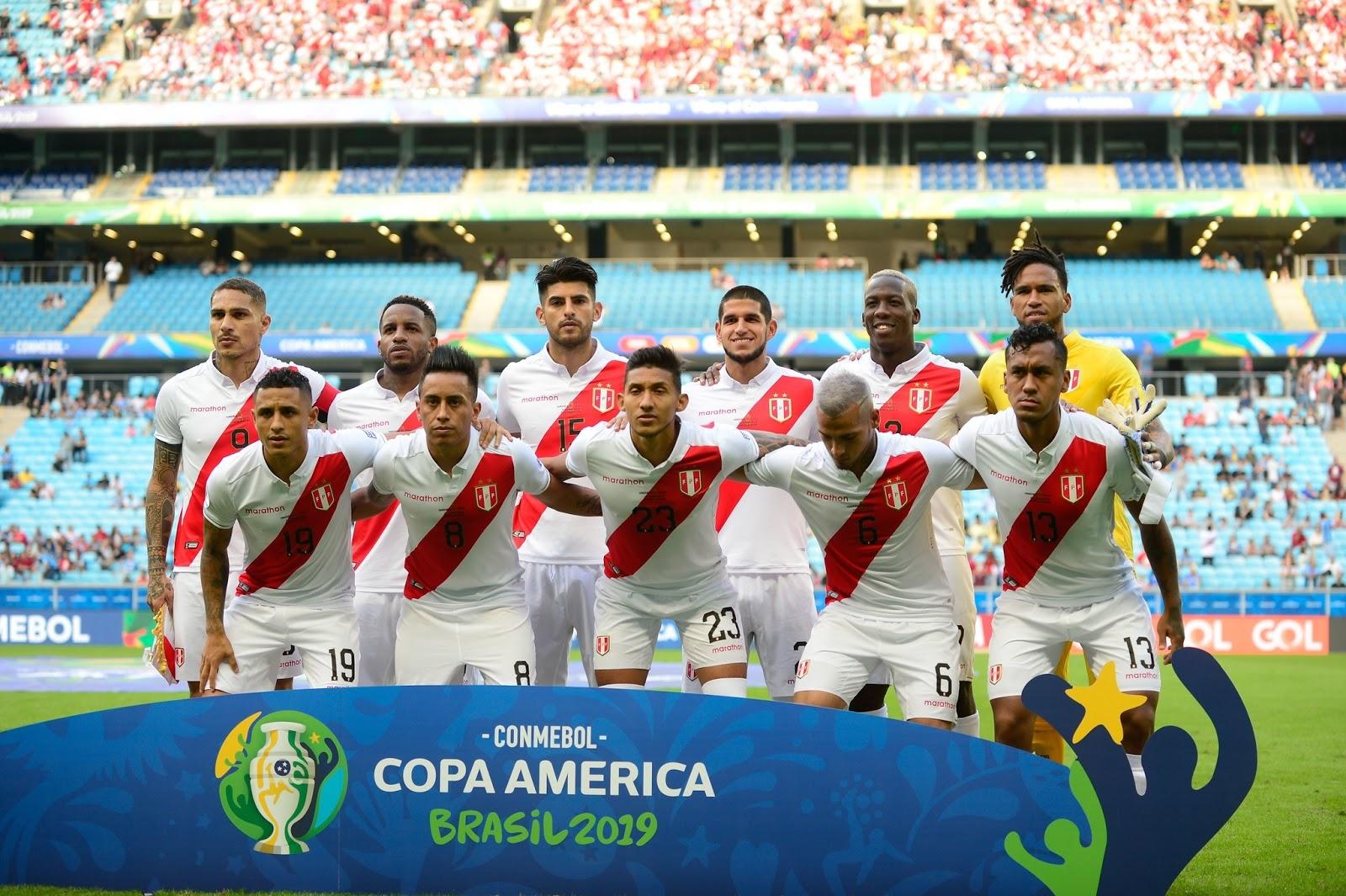 afbd57cd9 Peru goleia Chile e faz final da Copa América com Brasil domingo