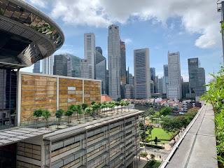 Surrounding precinct viewed from Funan mall