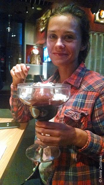 Брауни с мороженым в Hard Rock Cafe, Черногория