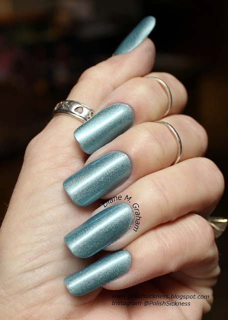Parrot Polish Emerald Sands, Mundo de Unas Mint, Uber Chic 5-01