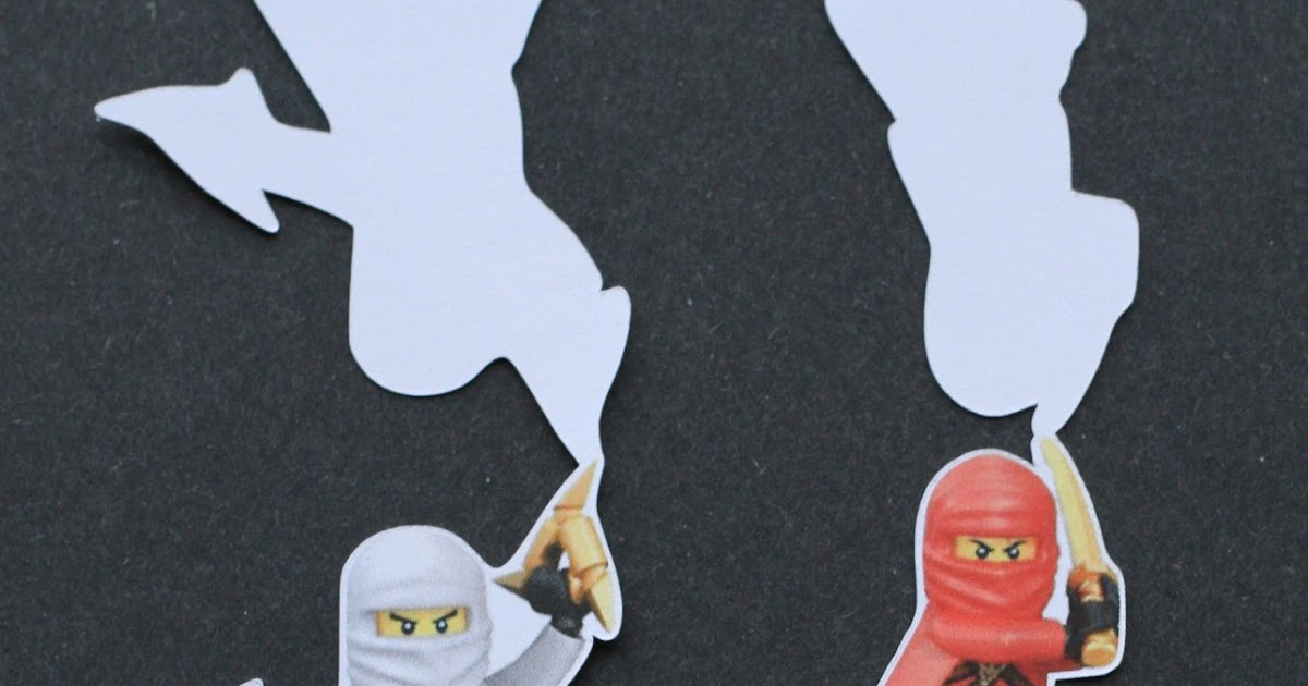 I Love Doing All Things Crafty: Ninjago Cupcake Toppers