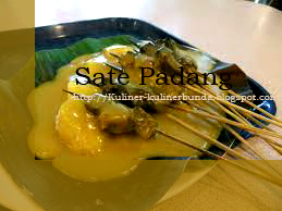 Hmmm ternyata Kota Padang punya kuliner andalan satu lagi ya bunda Resep Masakan Sate Padang yang Nikmat