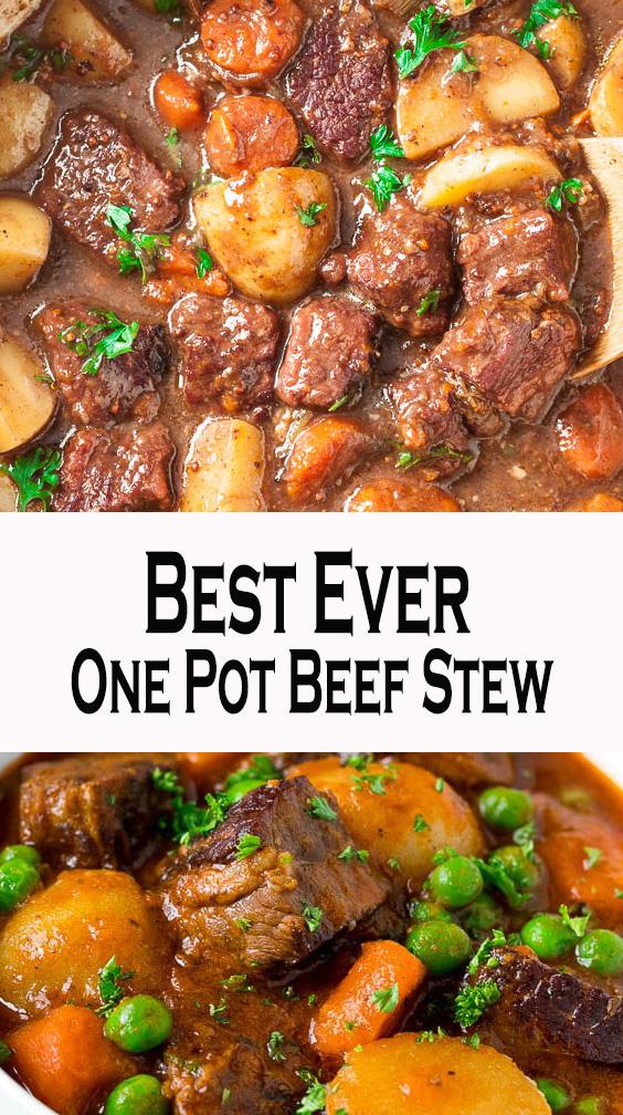 Best Ever One Pot Beef Stew