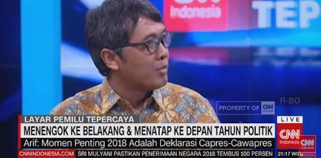 Pimred Tempo Ungkap: Jokowi Salah Asumsi Jadikan Ma'ruf Amin Cawapres