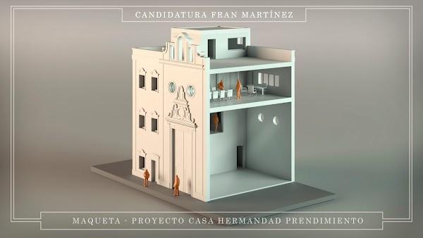 Prendimiento de Córdoba proyecta construir una casa de hermandad