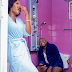 Nigerian couple take their pre-wedding photo to the toilet (Photos)