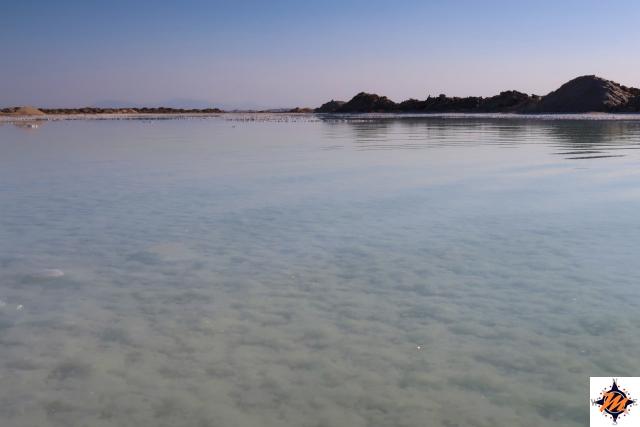 Varzaneh, lago salato