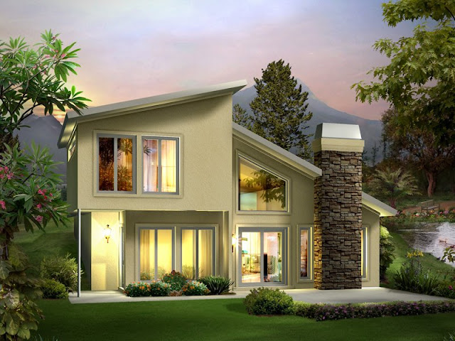 3d Bungalow house design