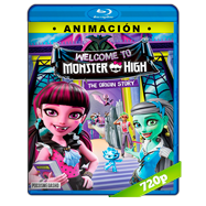 Monster High: Bienvenidos a Monster High (2016) BRRip 720p Audio Dual Latino-Ingles