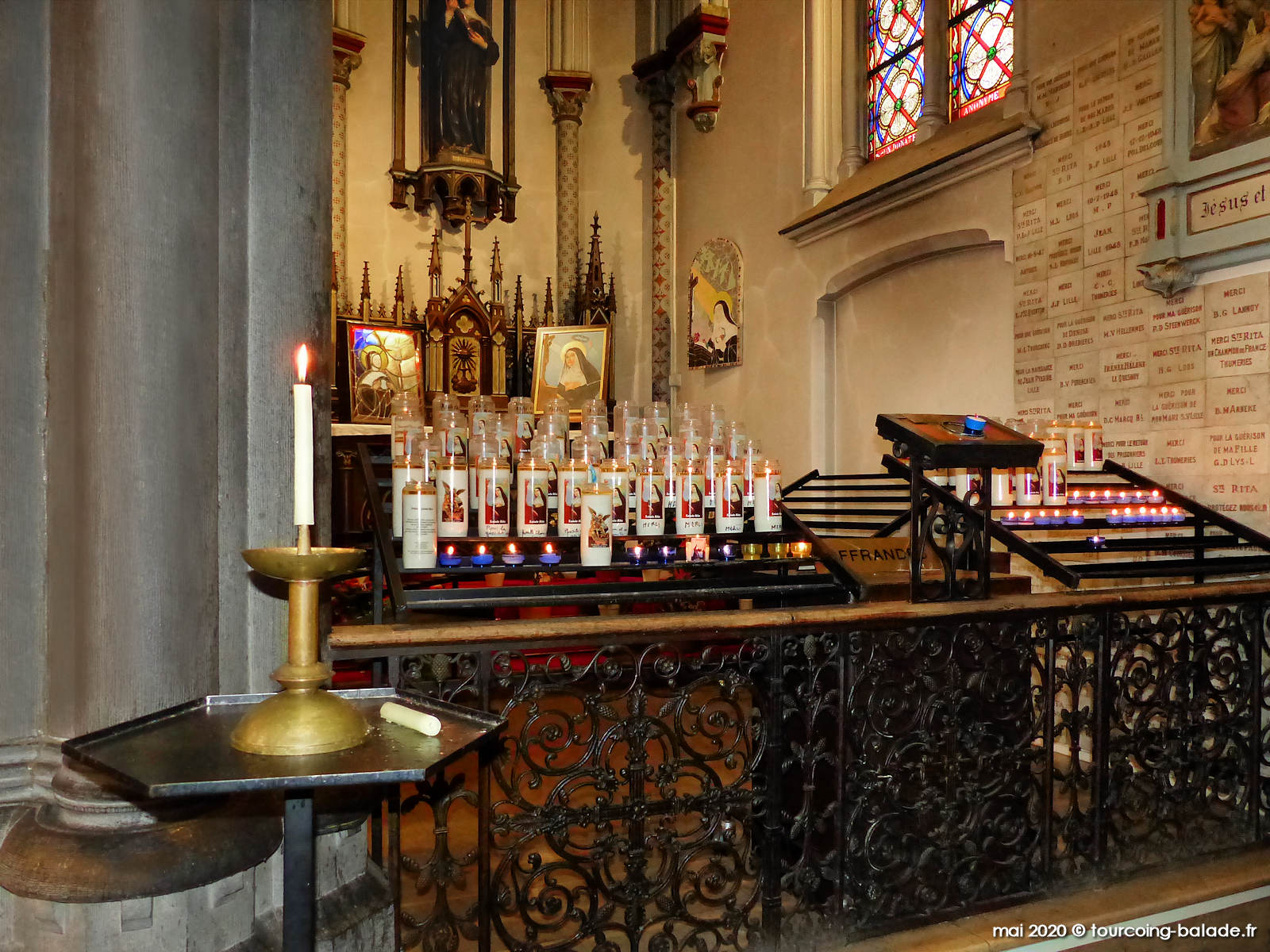 Église Sainte Rita, Vendeville, 2020