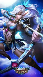 Miya Moonlight Archer Heroes Marksman of Skins Old V1