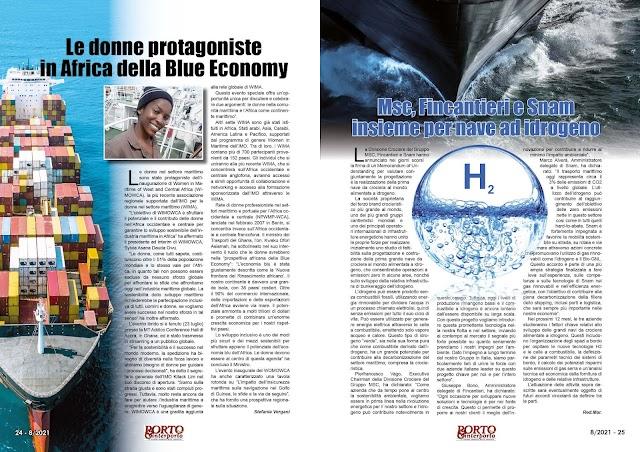 AGOSTO 2021 PAG. 24 - Le donne protagoniste in Africa della Blue Economy