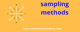 sampling-methods-research