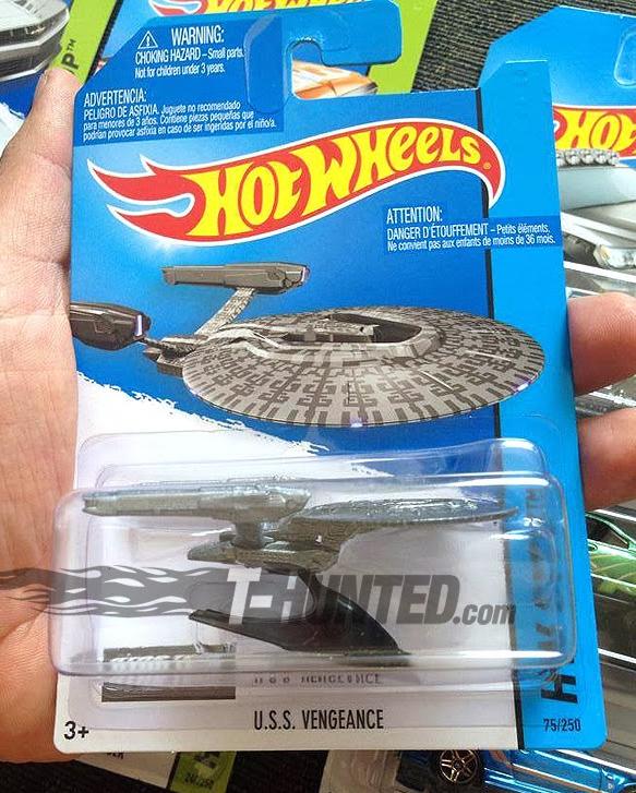 Uss Vengeance Hot Wheels The Trek Collective: H...