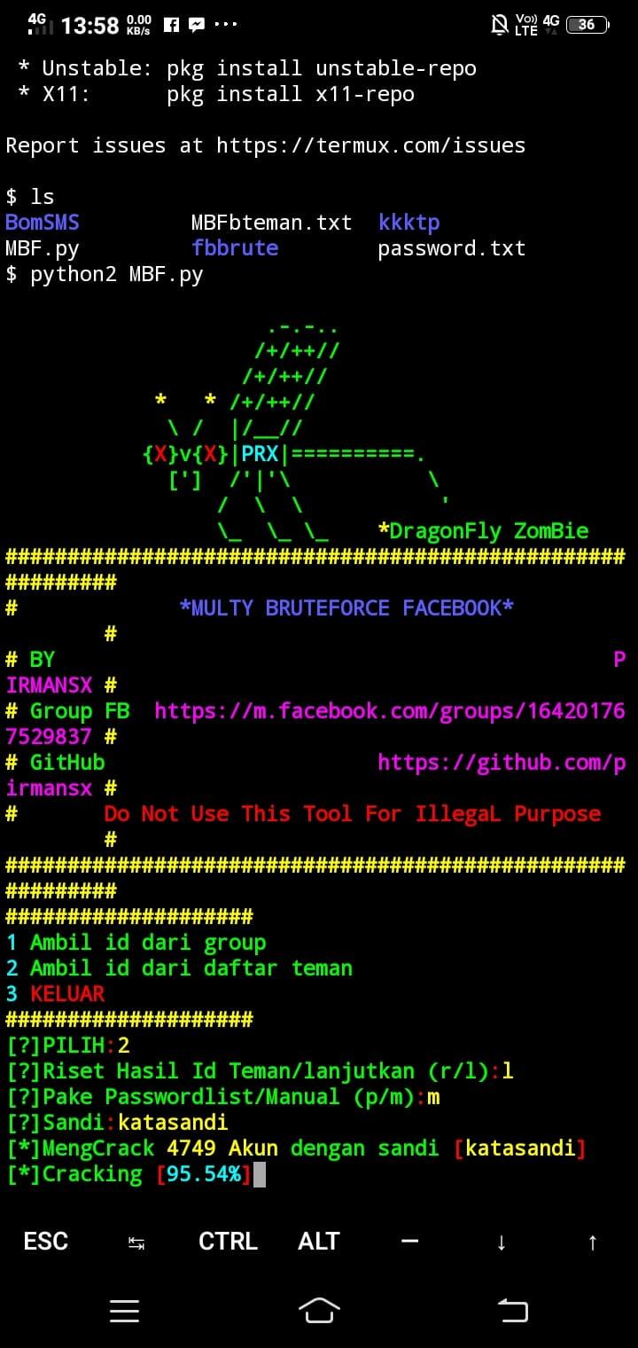 √ Cara Hack Akun Facebook Orang Lain dengan Termux, WORK gan! - Wanjay