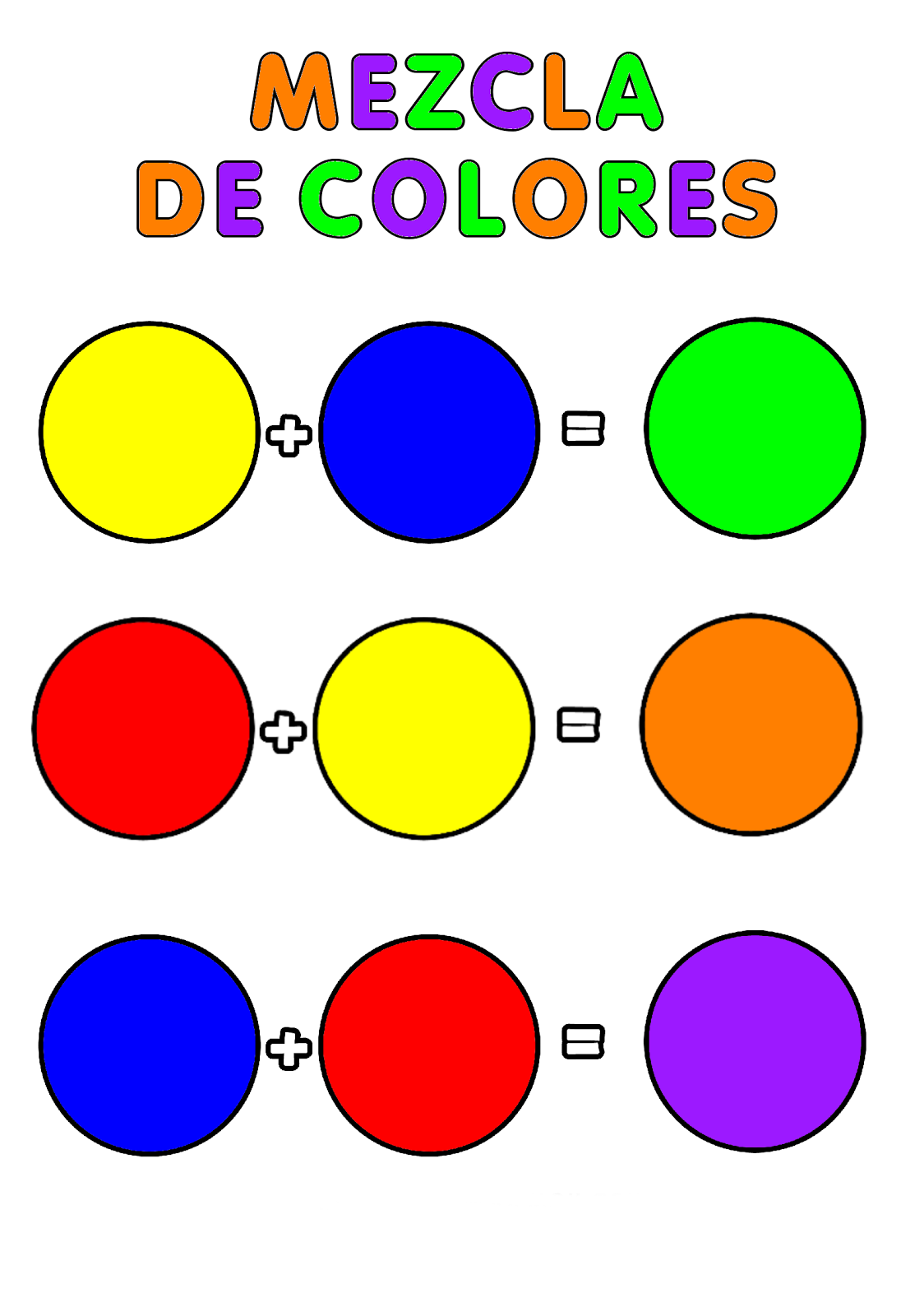Actividades para educaci n infantil experimento for Los colores para pintar