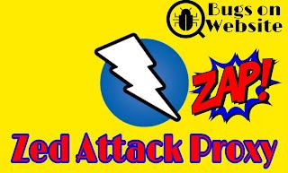 zap kali linux zed attack proxy