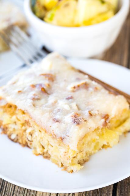 Crushed Pineapple Sheet Cake Recipe