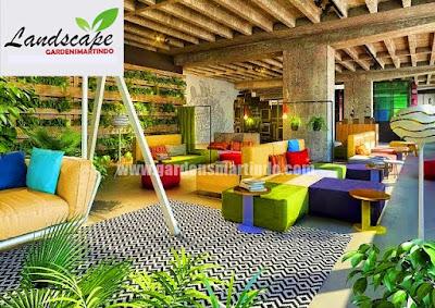 Jasa Tukang Taman Vertikal / Vertical Garden Surabaya
