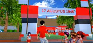 ID Lomba 17an Agustus Di Sakura School Simulator