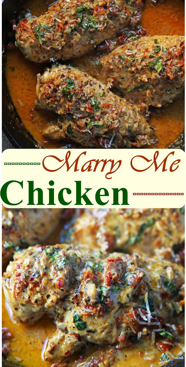 Marry Me Chicken #dinnerrecipes