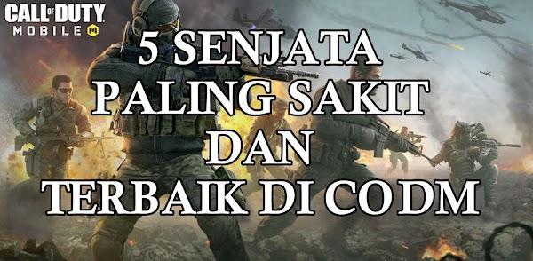 5 Senjata Terbaik Dan Paling Sakit Di Call Of Duty Mobile CODM
