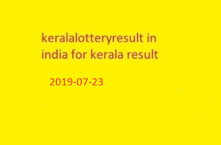kerala lottery win win  kerala lottery result chart 2019
