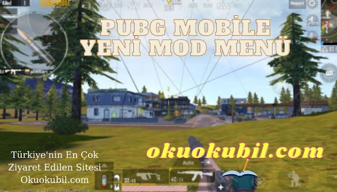 Pubg Mobile Yeni Mod Menu Aimbot, Geniş Açı Hilesi Apk 2021