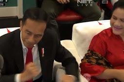 Gokil! Goyang Dayung Jokowi di Pembukaan Asian Games 2018 Jadi Sorotan, Diedit Fans K-Pop