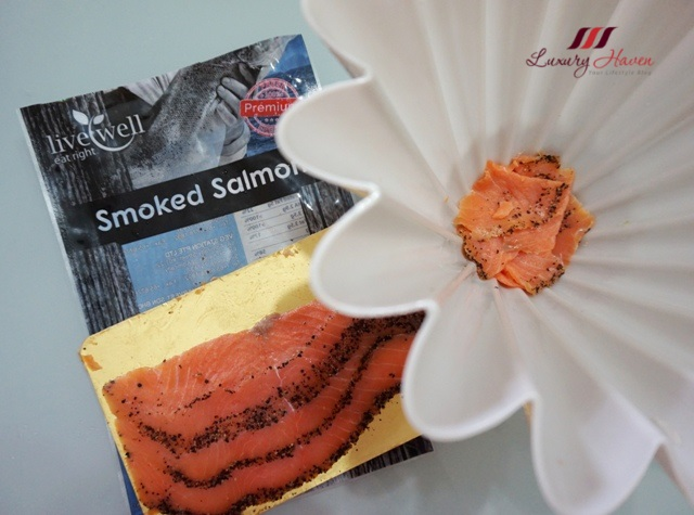 auspicious yu sheng ingredients smoked salmon jelly mould