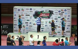 Καμαρώστε τον! Δοξάστε τον! Ο Γιάννης Σγουρόπουλος είναι ο πρωταθλητής Ευρώπης του απλού νέων στην επιτραπέζια αντισφαίριση για το 2017!