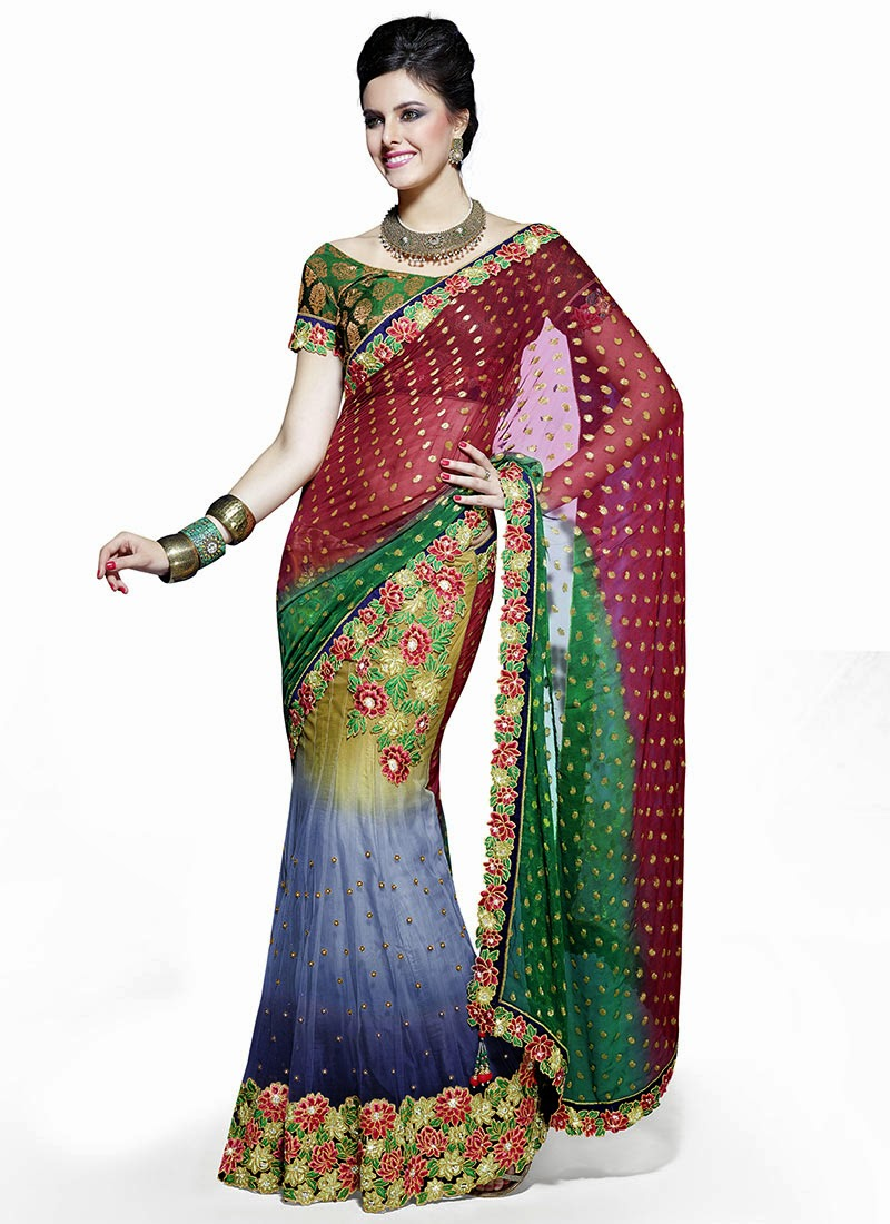 Best Indian Sarees Online Shopping - Latest Fashion Today-2213