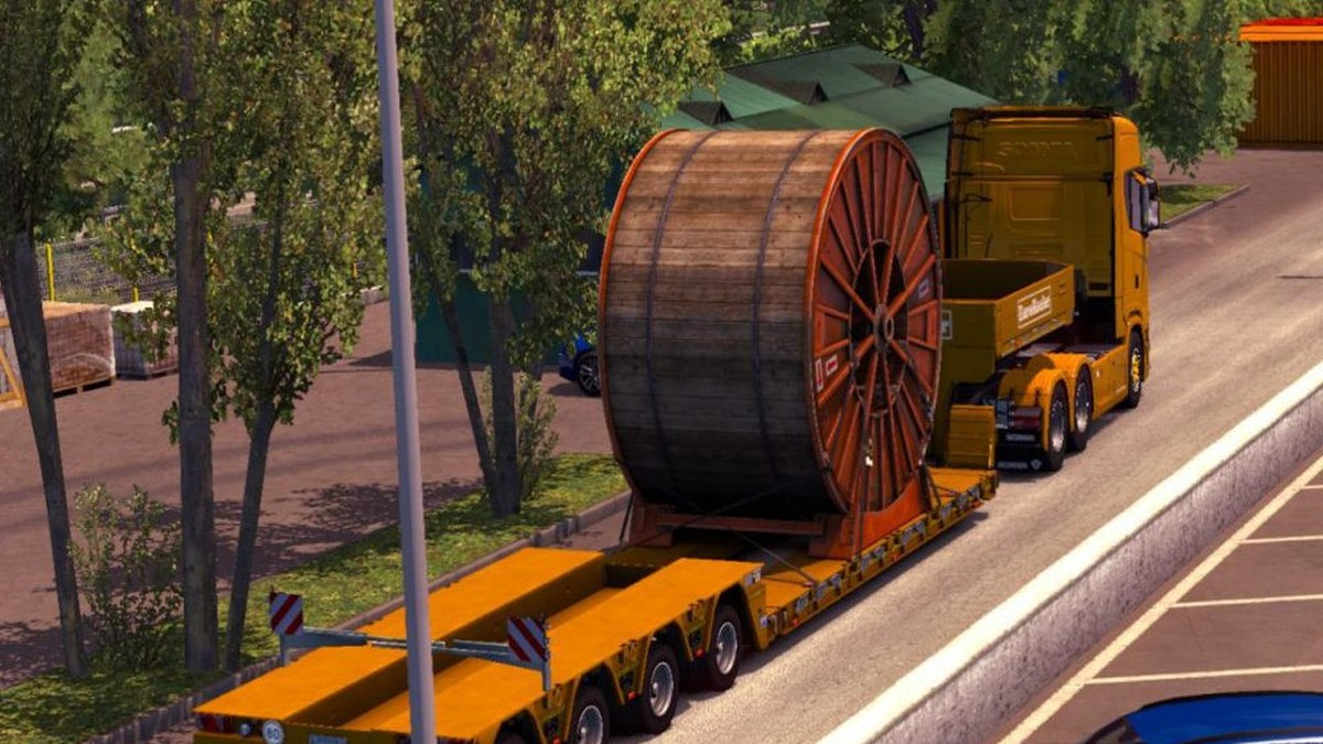 Heavy Cargo Trailers With 150 Tons